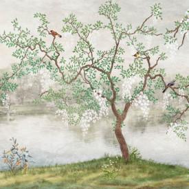 Fototapet, Arbore verde