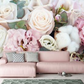 Fototapet, Un buchet de flori delicate