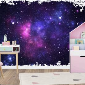 Fototapet, Universul purpuriu