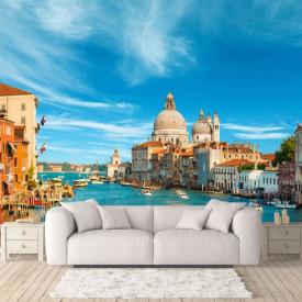 Fototapet, Veneția la răsăritul soarelui