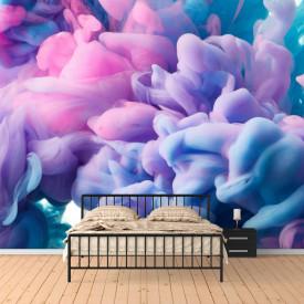 Fototapete 3D, Fum violet