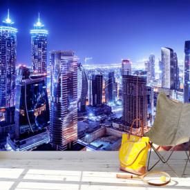 Fototapete 3D, Orașul de noapte