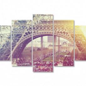 Multicanvas, Răsăritul în Paris.