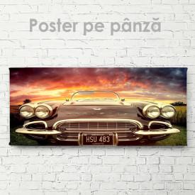 Poster, Corvette