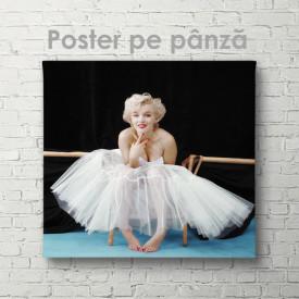 Poster, Marlin Monroe veselă