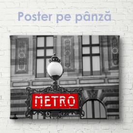 Poster, Metro