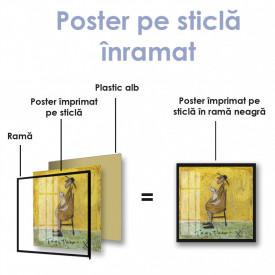 Poster, Om cu câine