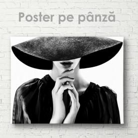 Poster, Pălăria