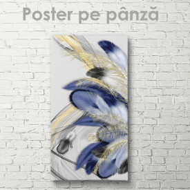 Poster, Pene albastre