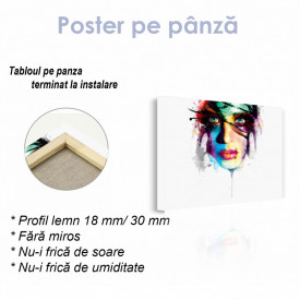 Poster, Portret abstract