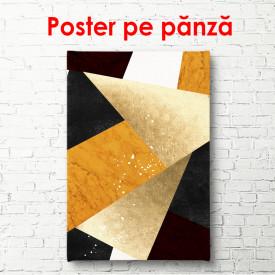 Poster, Triunghiuri abstracte strălucitoare