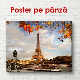 Poster, Turnul Eiffel toamna