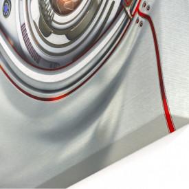 Tablou modular, Ochiul roșu al robotului.