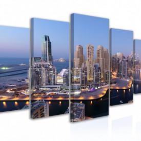Tablou modular, Panorama orașului