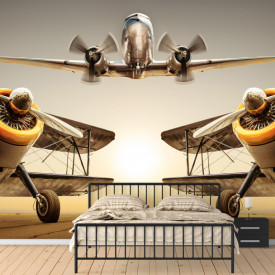 Fototapet, Avioanele