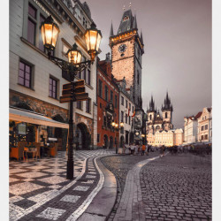 Fototapet, O plimbare într-un oraș