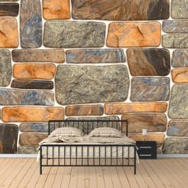 Fototapet Pentru Tavan, Mozaic de piatră