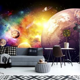 Fototapet, Planetele sistemului sola