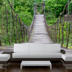 Fototapet, Podul din pădure