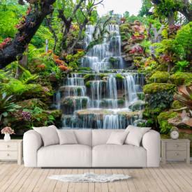 Fototapete 3D, O cascada în tropice