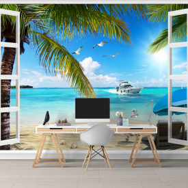Fototapete 3D, Plăcerea paradisului