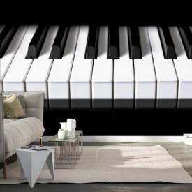 Fototapete Alb-Negru, Cheile pentru pian