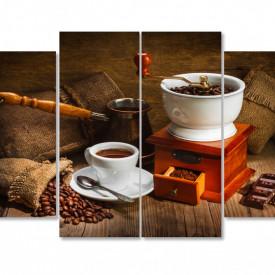 Multicanvas, Aparatul de cafea pe masă