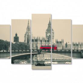 Multicanvas, Autobuzul roșu pe podul din Londra