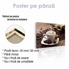 Poster, Cafea fierbinte cu condimente