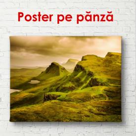 Poster, Câmpul pe deal