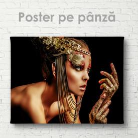 Poster, Doamna din bronz