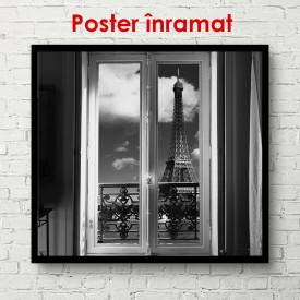 Poster, Fereastră în interior
