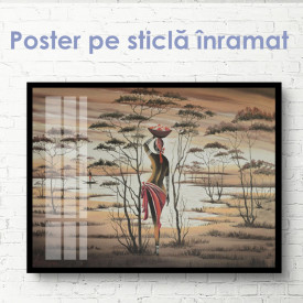Poster, Imagine etnică a unei fete