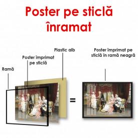 Poster, Întâlnirea la ceai în palat
