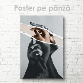 Poster, Mâinele