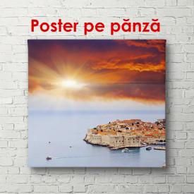 Poster, Oceanul la apus