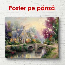 Poster, Parc în stilul Provence