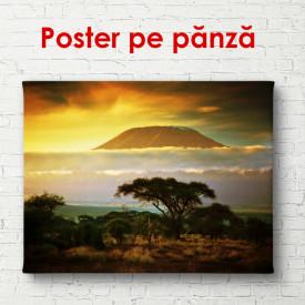 Poster, Parcul la un apus