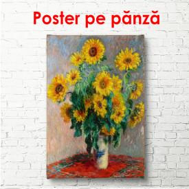 Poster, Pictură cu flori galbene
