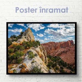 Poster, Stânci în deșert