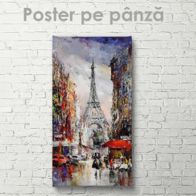 Poster, Turnul EiffelPoster, Pictura în ulei a Turnului Eiffel