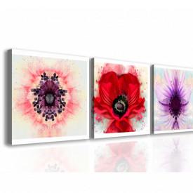 Tablou modular, Flori frumoase.