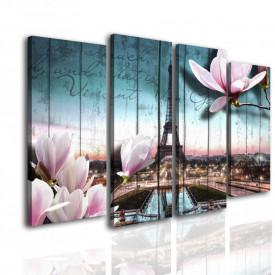 Tablou modular, Parisul romantic