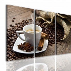 Tablou modular, Raiul de cafea.