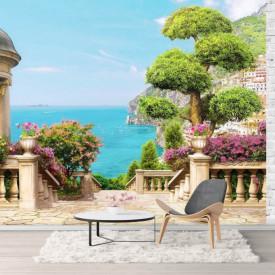 Fototapet, Balconul cu Priveliște la mare