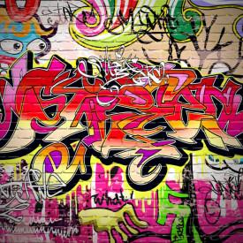 Fototapet, Graffiti abstract