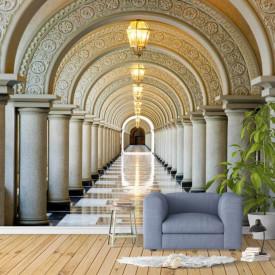 Fototapet Orase, Un hol cu coloane