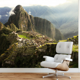 Fototapet, Orașul pierdut din Machu Picchu