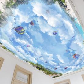 Fototapet Pentru Tavan, Cerul și baloane