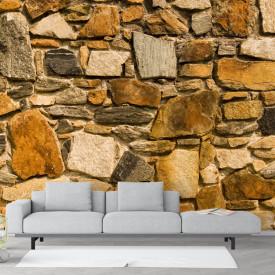 Fototapet, Zid de piatră antic